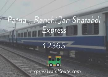 12365-patna-ranchi-jan-shatabdi-express