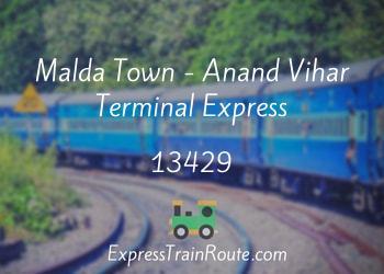 13429-malda-town-anand-vihar-terminal-express