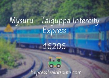 16206-mysuru-talguppa-intercity-express