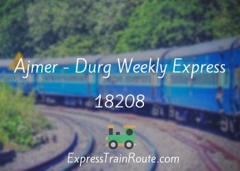 18208-ajmer-durg-weekly-express