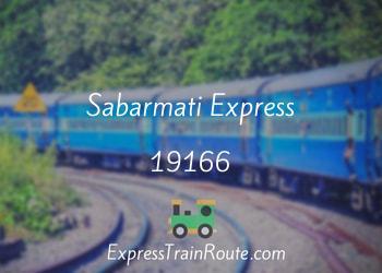 19166-sabarmati-express