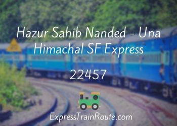 22457-hazur-sahib-nanded-una-himachal-sf-express