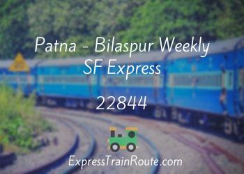 22844-patna-bilaspur-weekly-sf-express
